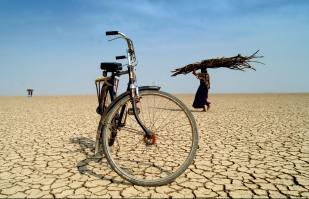 tienda en el desierto